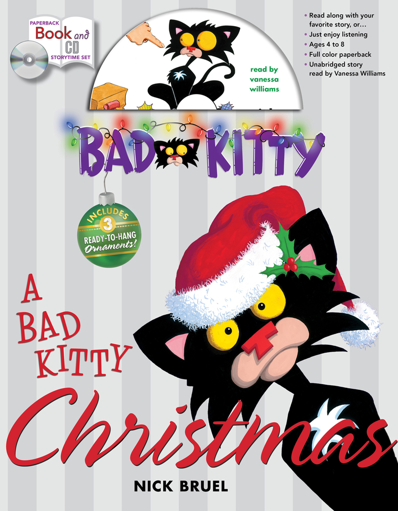 Bad Kitty Christmas Storytime Set | Nick Bruel | Macmillan