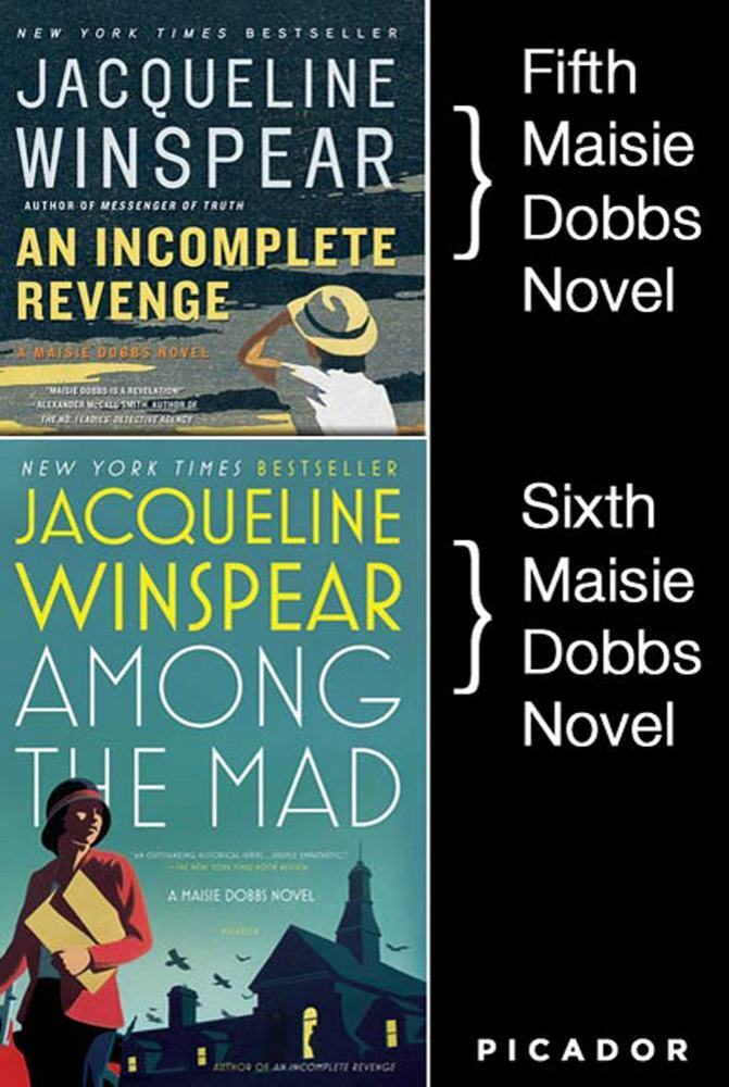 Maisie Dobbs Bundle #2, An Incomplete Revenge and Among the Mad