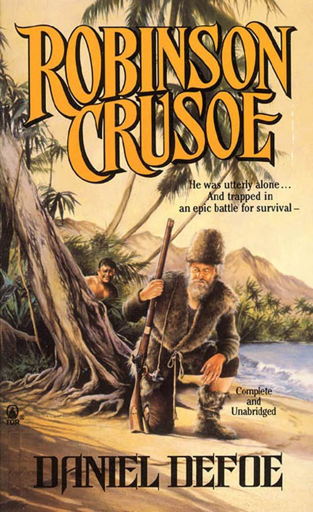 an analysis of daniel defoes realistic novel robinson crusoe Home → sparknotes → literature study guides → robinson crusoe robinson crusoe daniel defoe table of contents  how to write literary analysis.