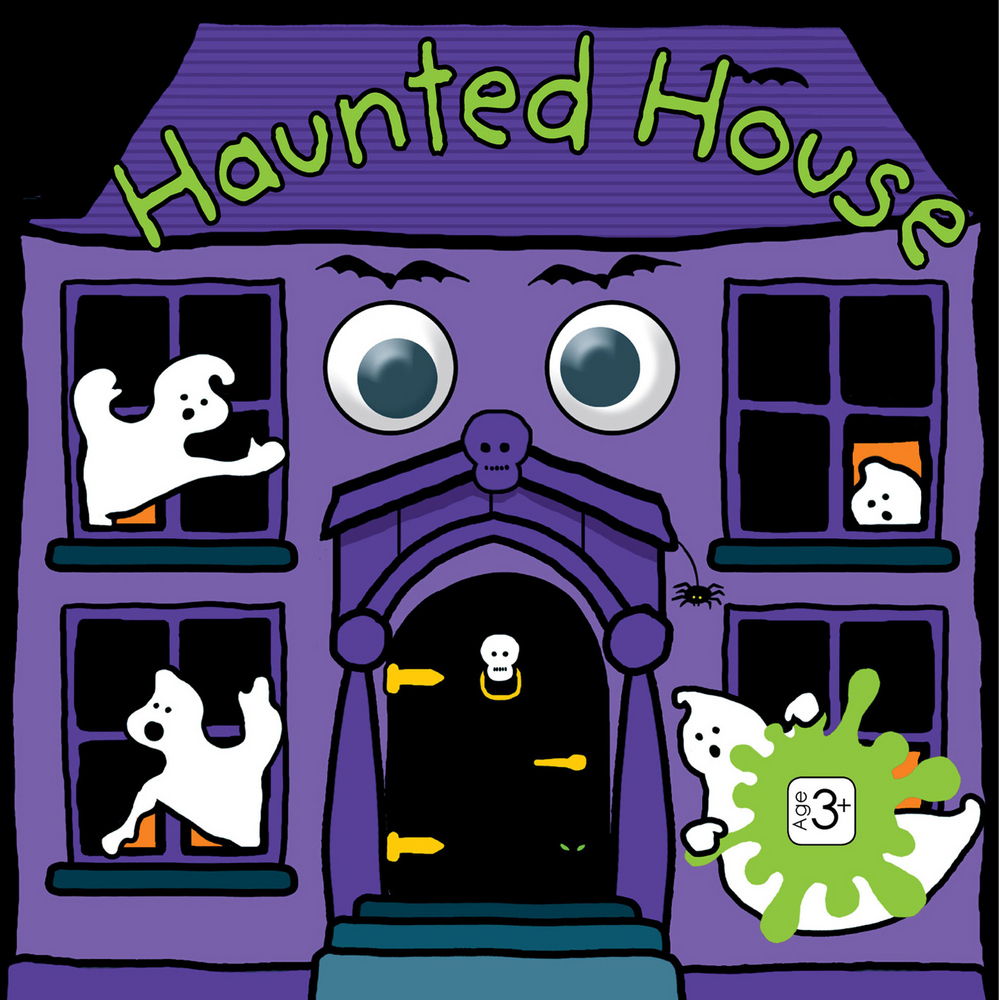 Funny Faces Haunted House : Priddy Books