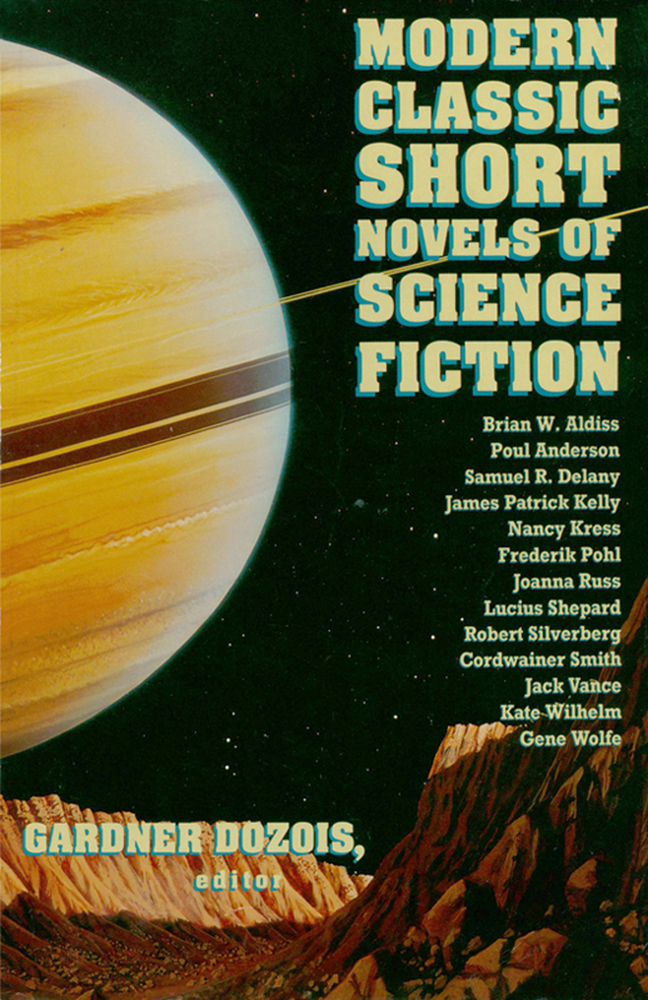Modern Science Fiction Book Covers : Modern classic short novels of science fiction gardner