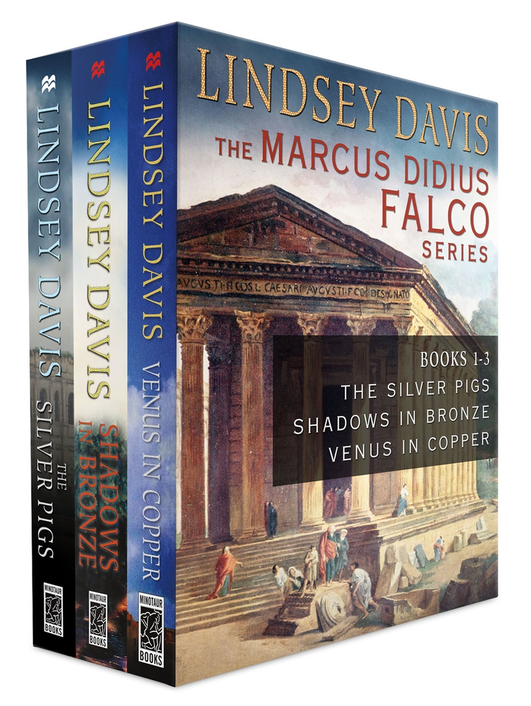 The marcus didius falco series books 1 3 lindsey davis for Bureau 13 book series