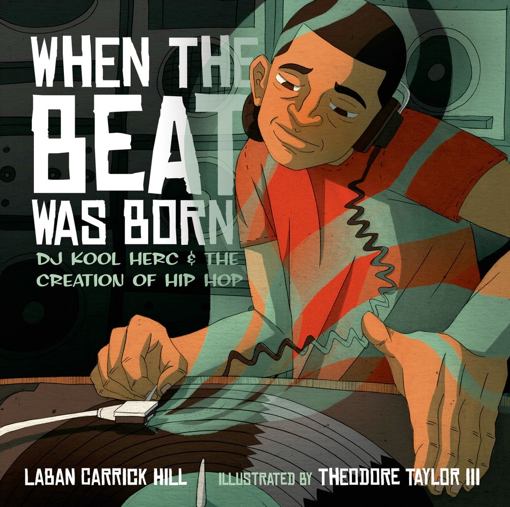 Book cover, When the Beat Was Born