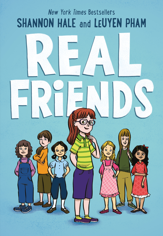 Image result for real friends book