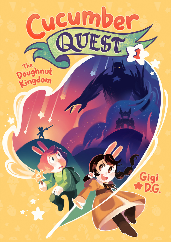 Image result for cucumber quest doughnut cover