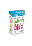 Wipe Clean: Activity Flash Cards Letters