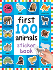 First 100 Stickers: Animals
