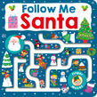 Maze Book: Follow Me Santa