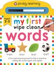 My First Wipe Clean: Words