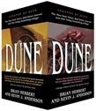 Legends of Dune Mass Market Paperback Boxed Set