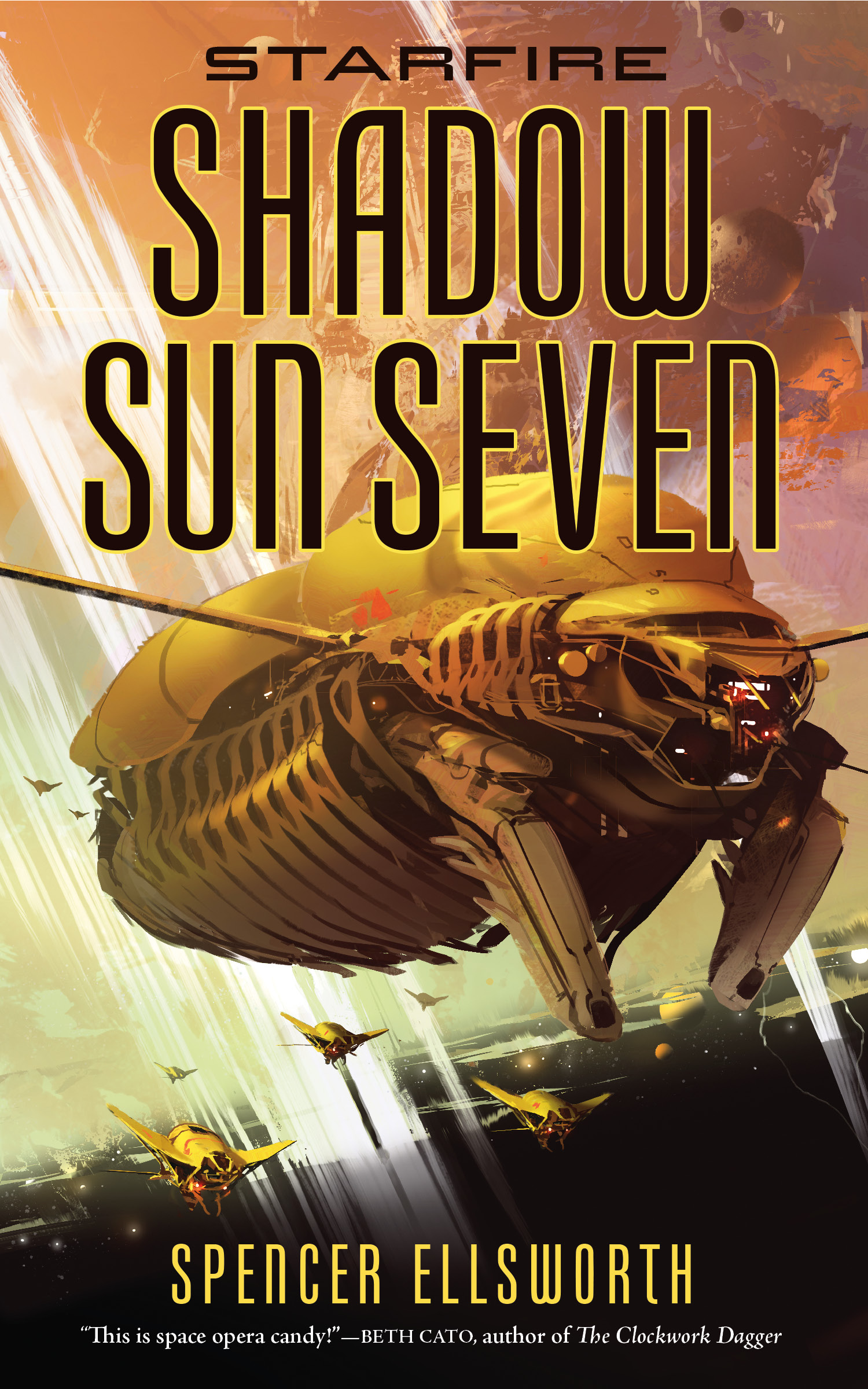 Spencer Ellsworth: Five Things I Learned Writing Shadow Sun Seven