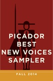 Picador Best New Voices Sampler: Fall 2014