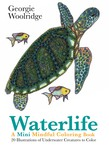 Waterlife: A Mini Mindful Coloring Book