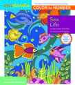 Zendoodle Color-by-Number: Sea Life
