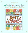 Colorful Blessings: Words to Love By