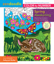 Zendoodle Color-by-Number: Spring Awakening