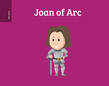 Pocket Bios: Joan of Arc
