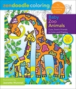Zendoodle Coloring: Baby Zoo Animals