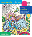 Zendoodle Coloring: Furry Friends