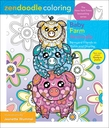 Zendoodle Coloring: Baby Farm Animals
