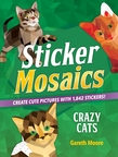 Sticker Mosaics: Crazy Cats