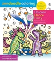 Zendoodle Coloring: Unicorn Dance Party