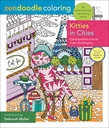 Zendoodle Coloring: Kitties in Cities