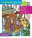 Zendoodle Coloring: Sleepy Sloths
