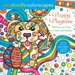 Zendoodle Colorscapes: Puppy Playtime
