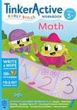 TinkerActive Early Skills Math Workbook Ages 3+