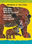 Baby Bear, Baby Bear, What Do You See? / Oso bebé, oso bebé, ¿qué ves ahí? (Bilingual board book - English / Spanish)