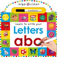 Wipe Clean: Letters