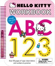 Hello Kitty: Wipe Clean Workbook ABC, 123