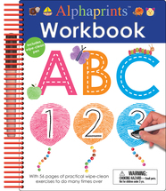 Alphaprints: Wipe Clean Workbook ABC