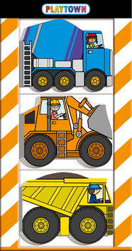 Playtown Chunky Pack: Construction