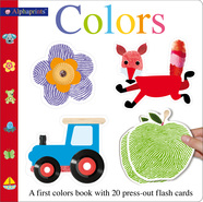 Alphaprints Colors Flash Card Book