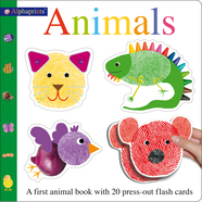 Alphaprints Animals Flash Card Book
