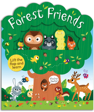Forest Friends: A lift-and-learn book