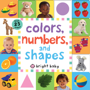 Lift-the-Flap Tab: Colors, Numbers, Shapes