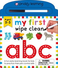 My First Wipe Clean: ABC