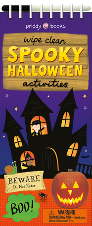 Wipe Clean Activities: Spooky Halloween