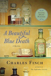 A Beautiful Blue Death Book Cover - Click to see book details