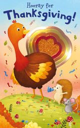 Shiny Shapes: Hooray for Thanksgiving! Book Cover - Click to open Coming Soon panel