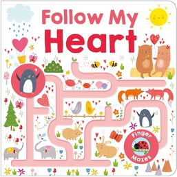 Maze Book: Follow My Heart Book Cover - Click to open Coming Soon panel
