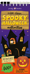 Wipe Clean Activities: Spooky Halloween Book Cover - Click to open New Releases panel