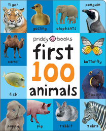 First 100 Animals Padded (large) Book Cover - Click to open Coming Soon panel