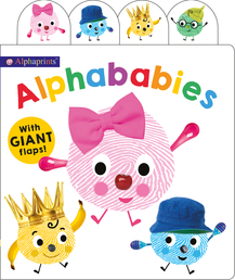 Alphaprints: Alphababies Book Cover - Click to open Coming Soon panel