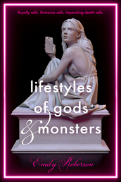 Lifestyles of Gods and Monsters Book Cover - Click to open New Releases panel