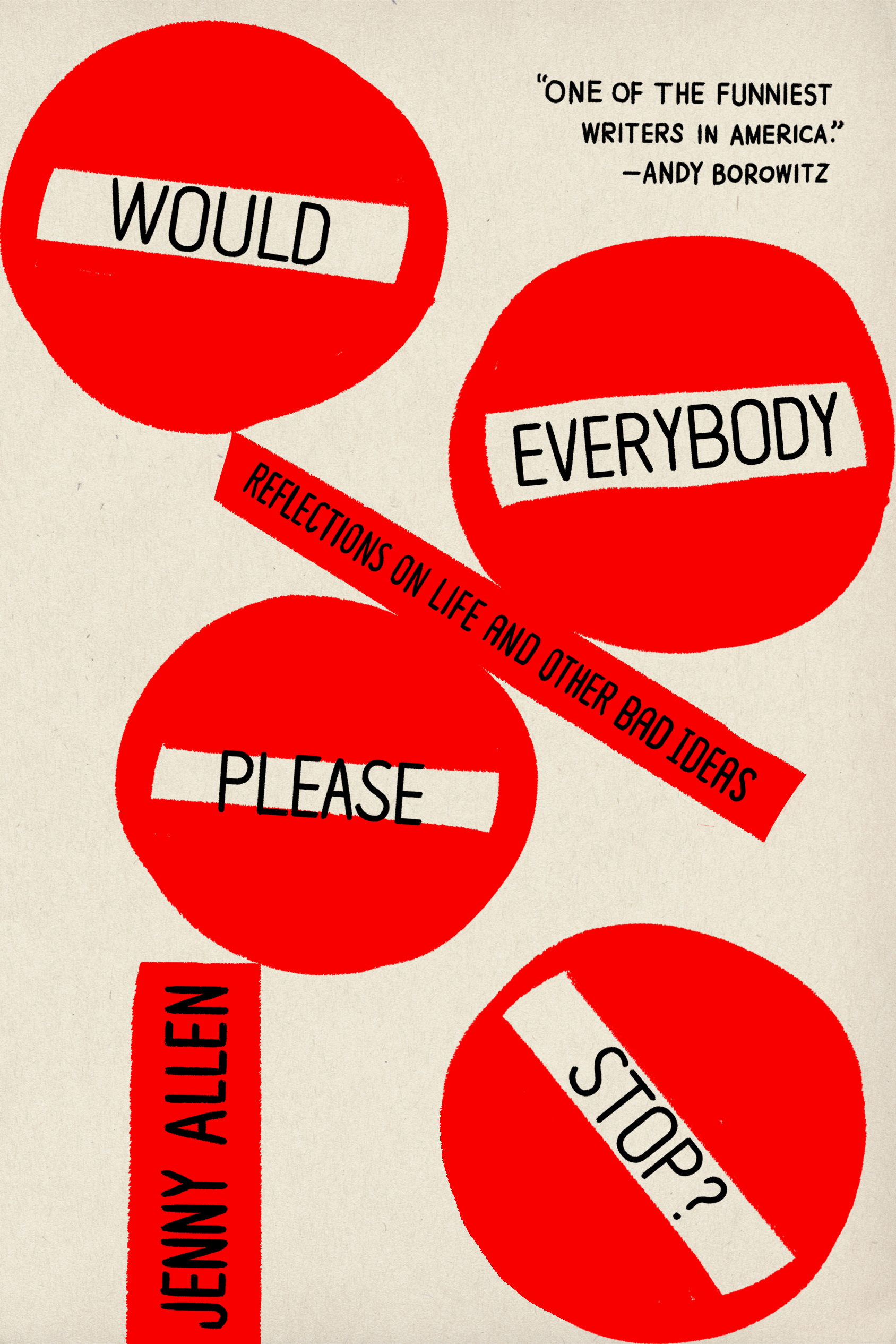 Would Everybody Please Stop? Book Cover - Click to open Coming Soon panel