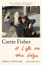 Carrie Fisher: A Life on the Edge Book Cover - Click to open New Releases panel